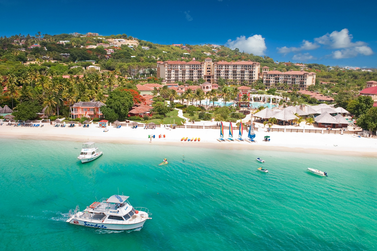 antigua hotels tourist association sandals gives update on